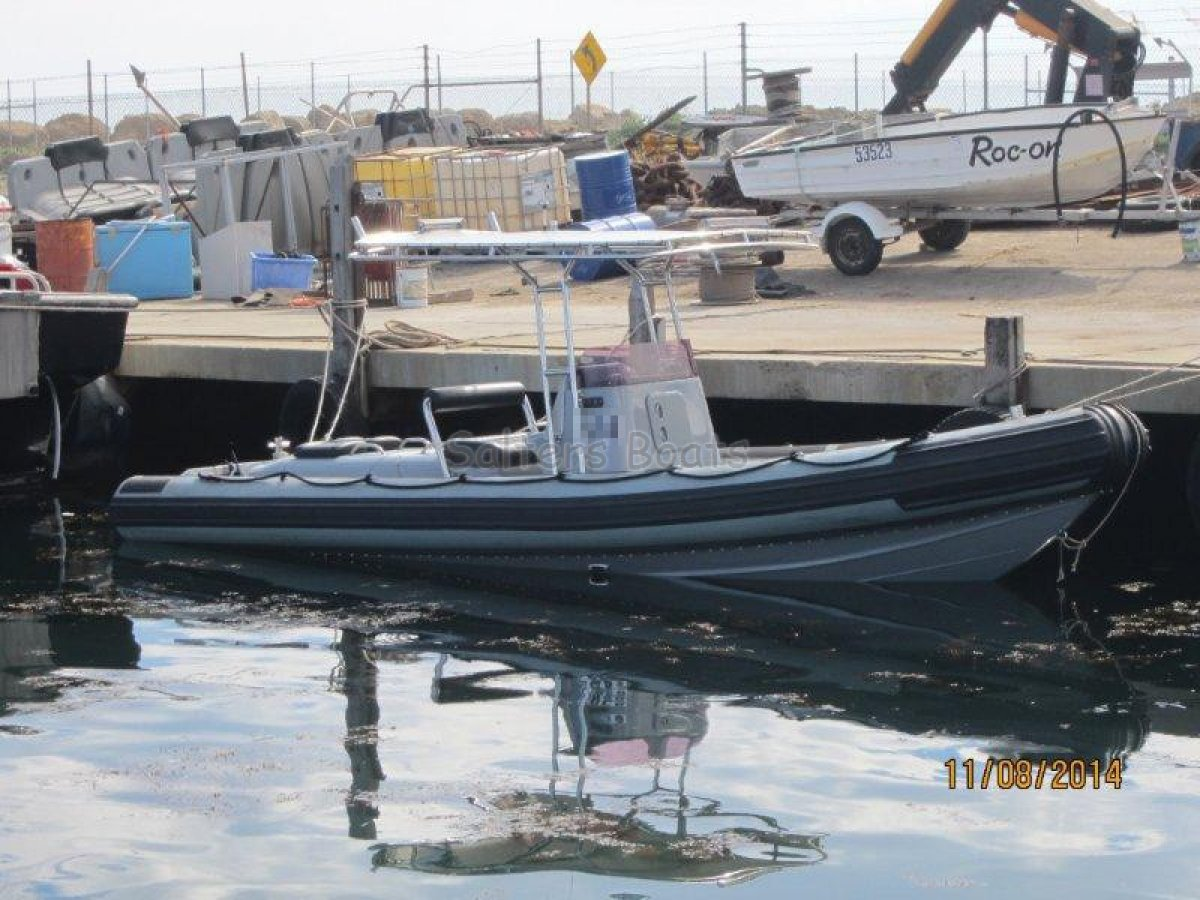 7.3m Gemini Rigid Inflatable Diesel Jet