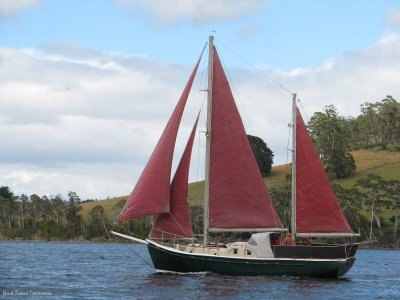 "Dick Thompson 36 Ketch ""Ibis"""