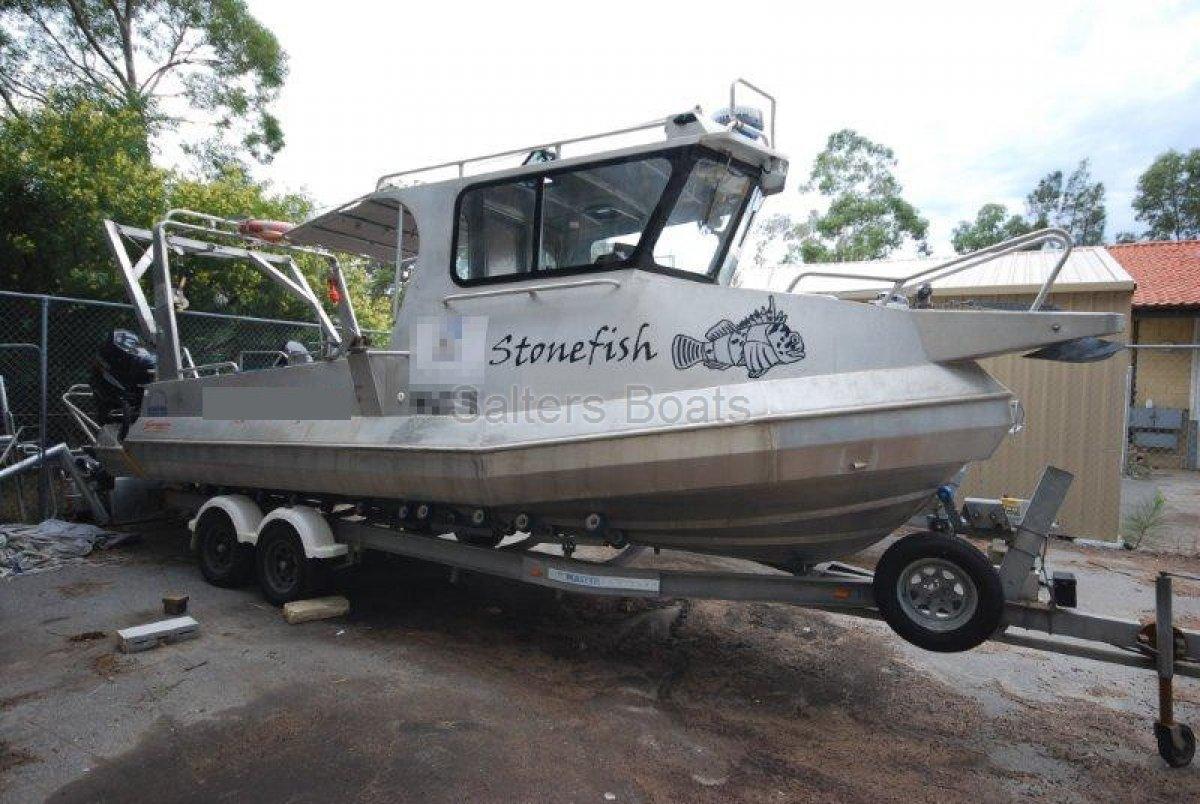 7.3m Scorpion Aluminium Workboat