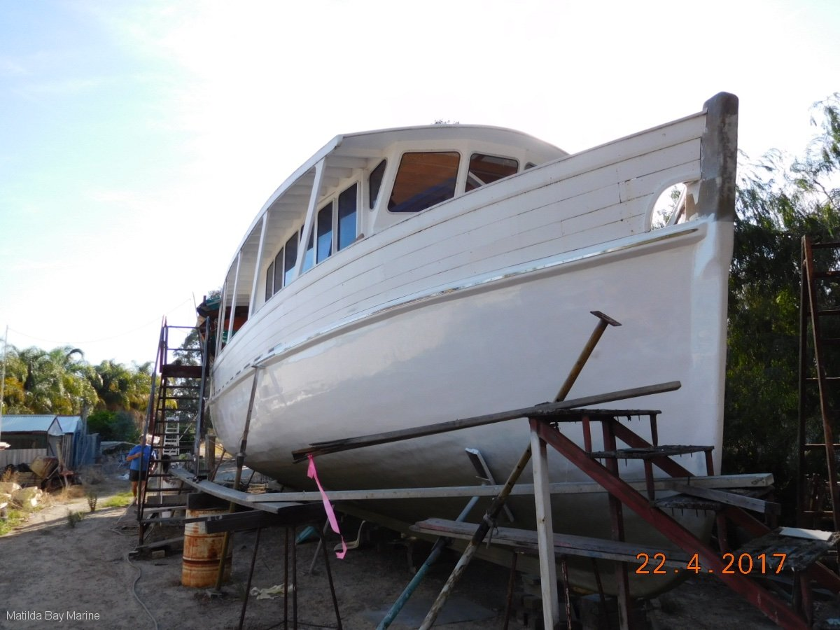 Custom Ex Commercial, Trawler style expedition cruiser