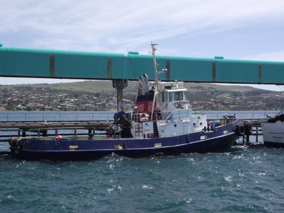 Custom 26.6m Steel Commercial Tug