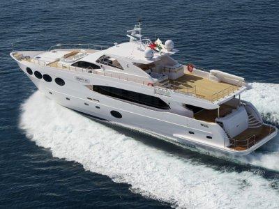 Majesty Yachts As New 33m Fly Bridge Motorboat