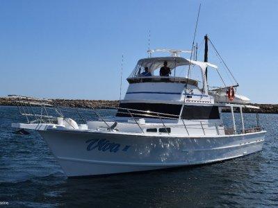 Custom 55 Classic Sambrailo Flybridge Cruiser