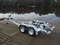 Boat trailer Fibreglass 5m Tandem