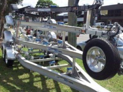 Aluminium Boat trailer 4.2m