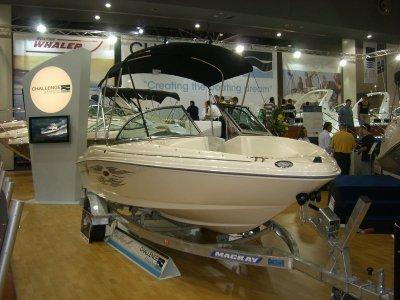Aluminium boat trailer 5.4m tandem axle