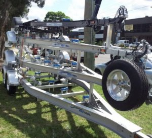 Aluminium Boat trailer 5m Fibreglass