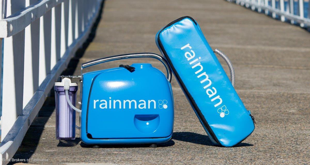 Rainman portable Desalination. Petrol or 240 volt operated