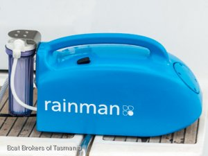 Rainman Portable Desalination. Petrol or 240 Volt Operated