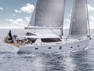 New Moody 54ds Living on One Level. - World Cruising in Pure Comfort
