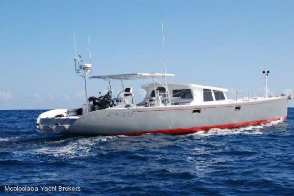 Custom 80' Ultra Light Displacement Trawler