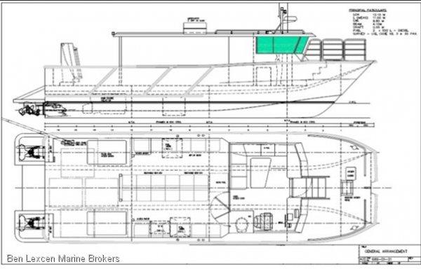 Jet Twin Catamaran IN Charter