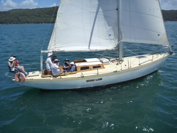 Custom 39ft Classic Timber Yacht