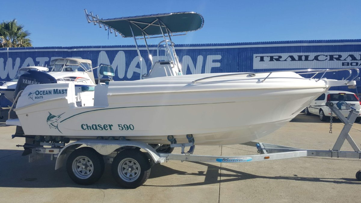 """Ocean Master 590 Centre Console - HUGE FACTORY REBATE ON THIS """"ONE OFF"""" DEAL!!!"""