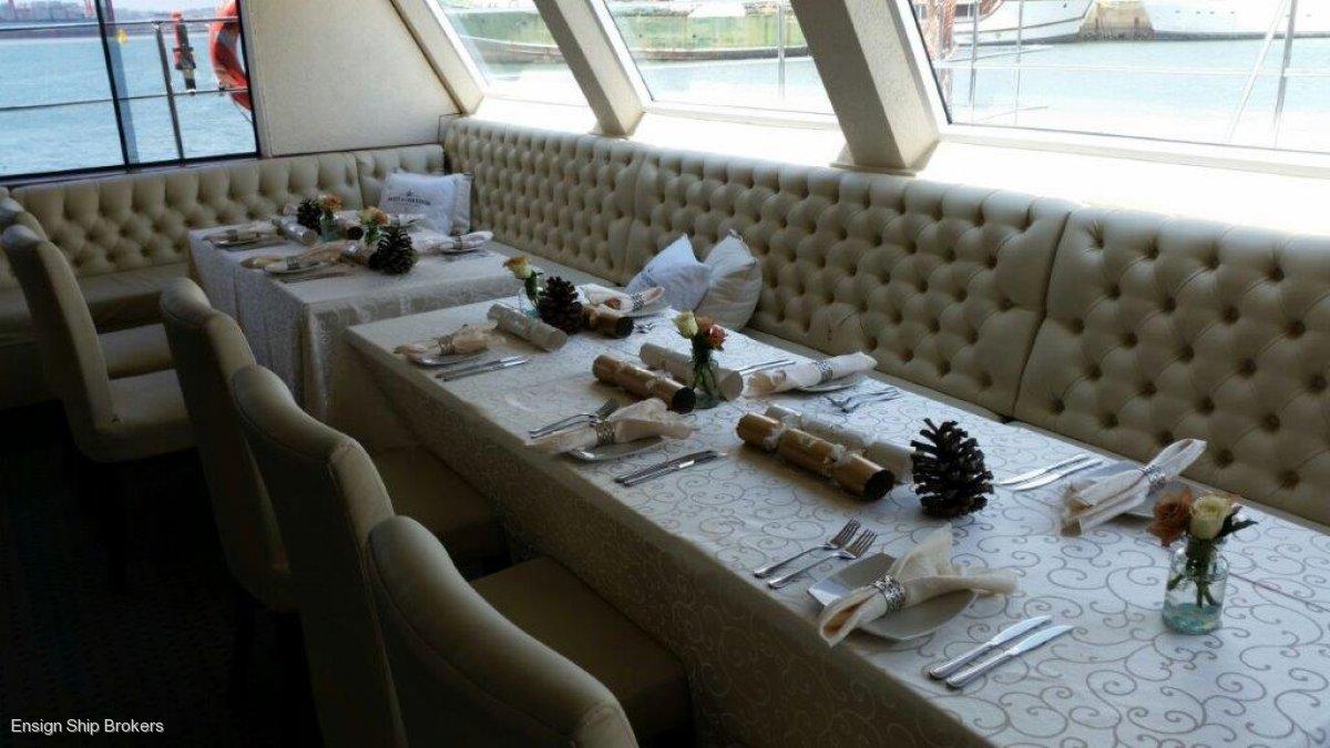 Custom Catamaran Luxury 6 Star 200 Pax Floating Restaurant
