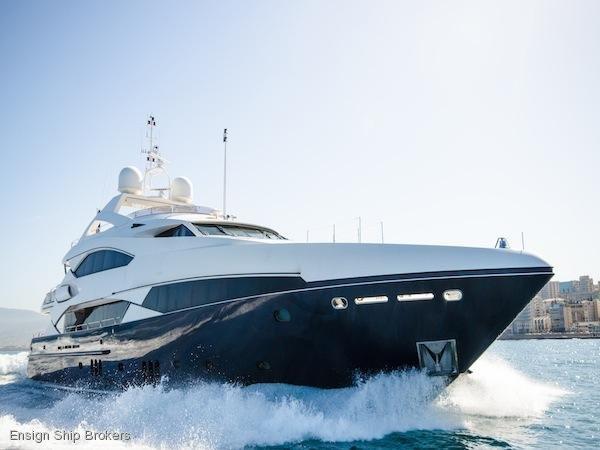 Sunseeker 37 Metre Yacht