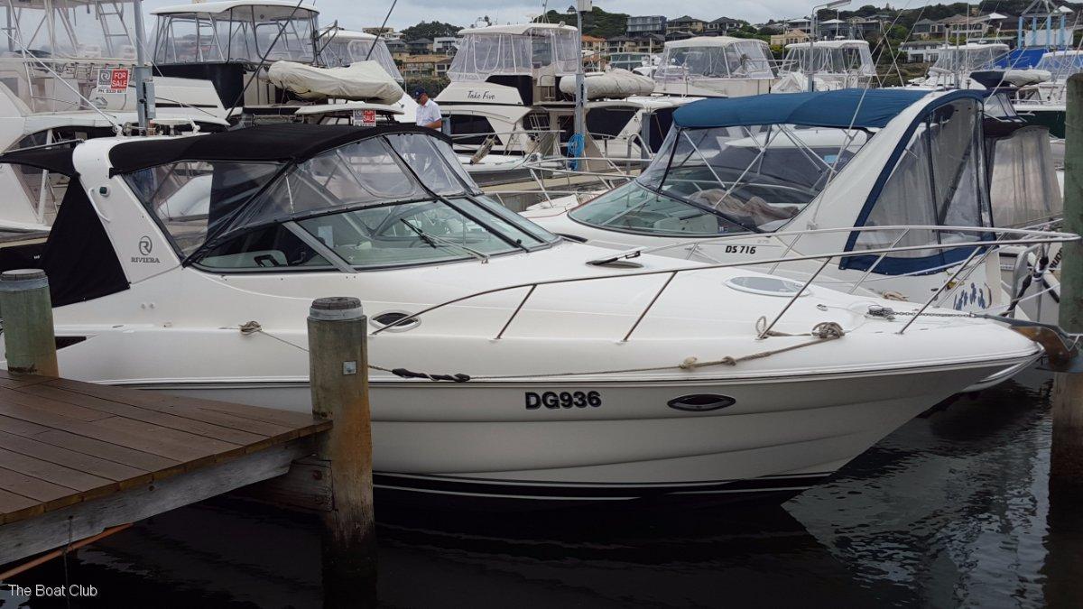 Riviera M290 Sport Cruiser 1 Share @ $24,750 ono