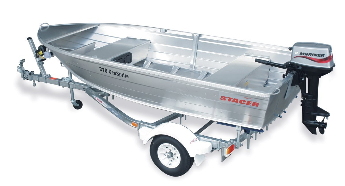 Stacer 369 Seasprite Short Shaft Tinnie/Dinghy Hull Only