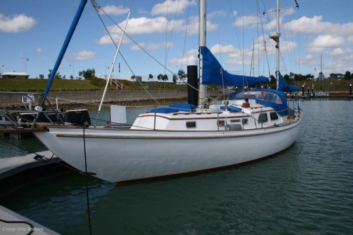Custom 39' Timber Yawl