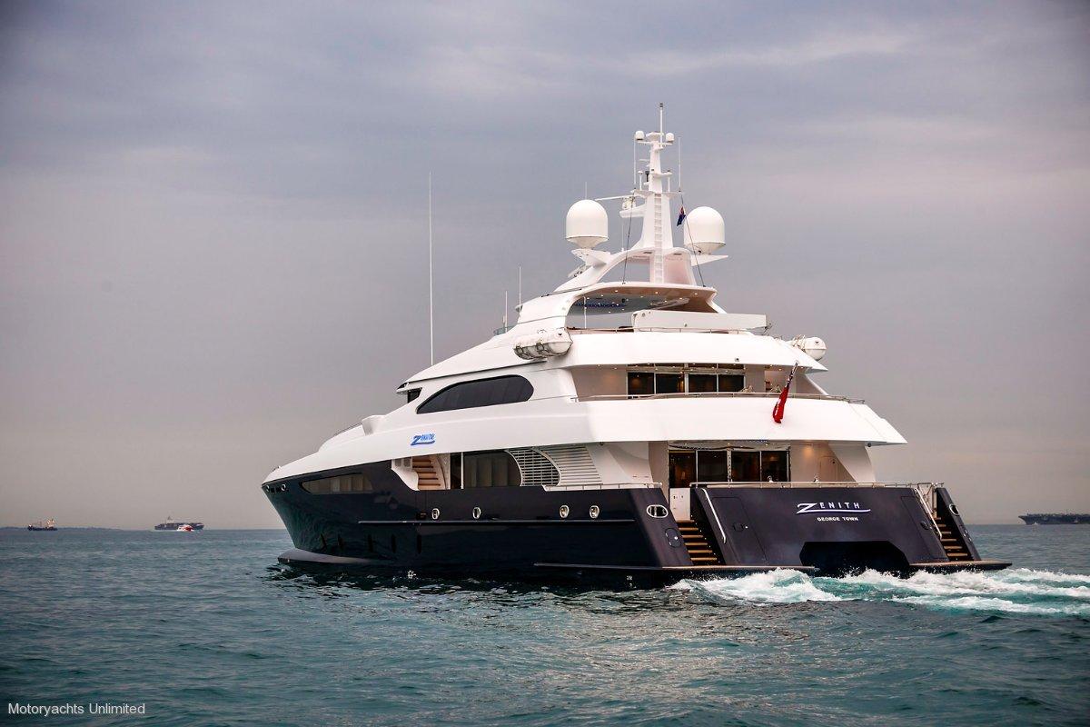 Crowther Catamaran Superyacht
