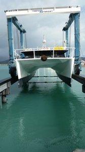 Custom Design And Built 52ft Alloy Power Catamaran