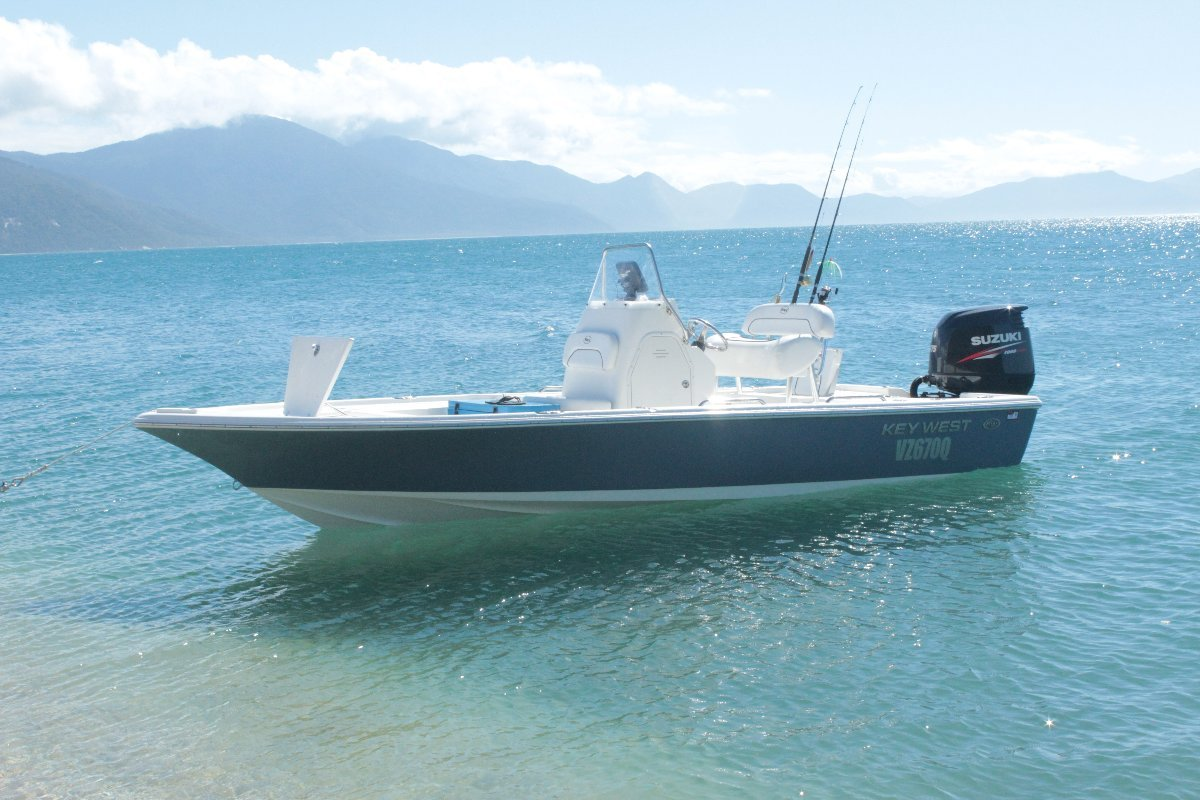 Key West 210br Tournament centre console fishing boat:Cairns