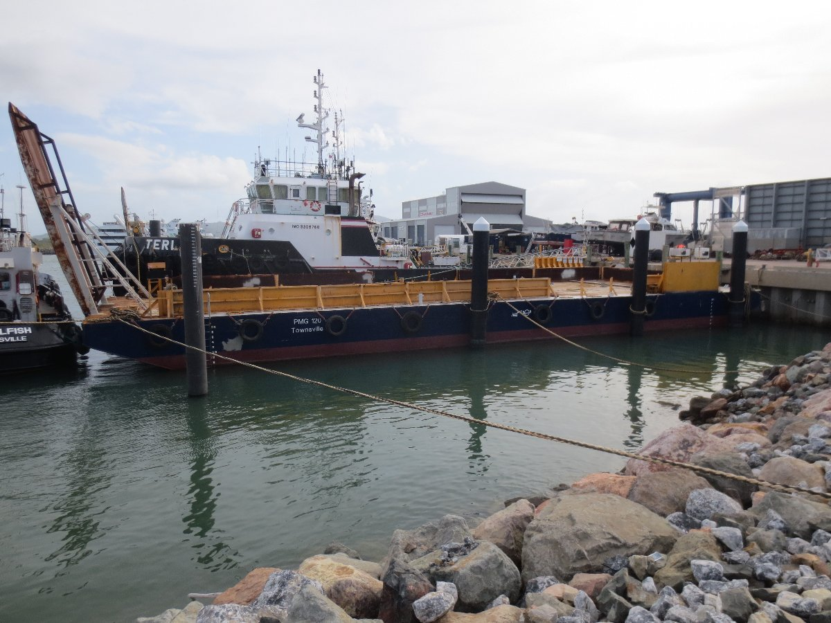 120ft Steel Deck Cargo Barge