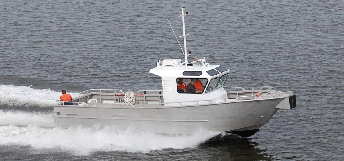 11m Aluminium Line Boat