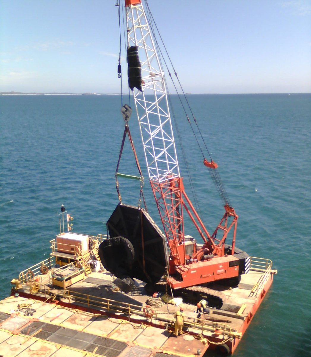 15.95m x 11m Modular Barge
