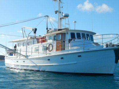 Swains Reef Charter Fishing Vessel