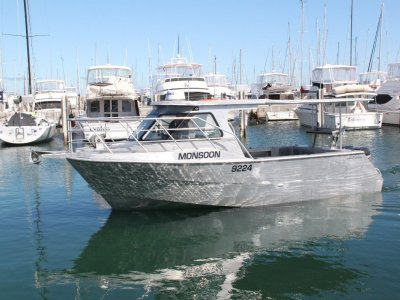 New Saltwater Commercial Boats 8.0m Hardtop Saltwater Commercial Workboats