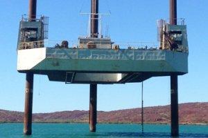 34m x 25m 120T Jack Up Barge