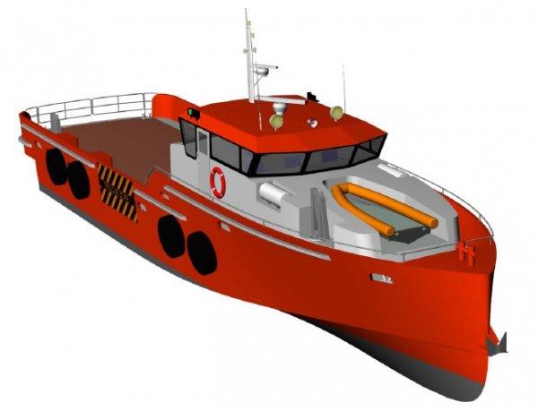 New 24m Crew Supply Vessel