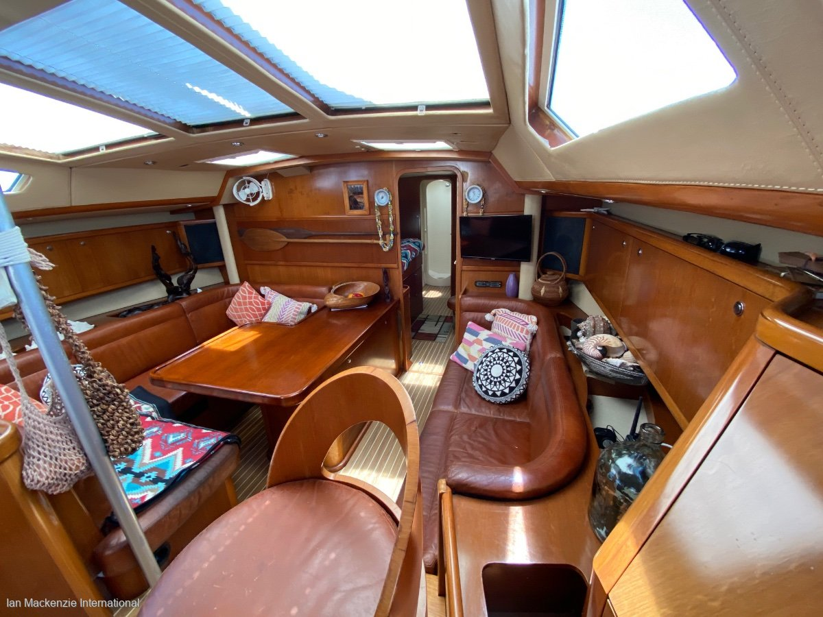 JFA 54 Lift swing keel performance sailing yacht