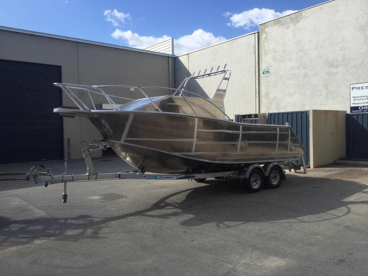 Preston Craft 5.8m Cuddy