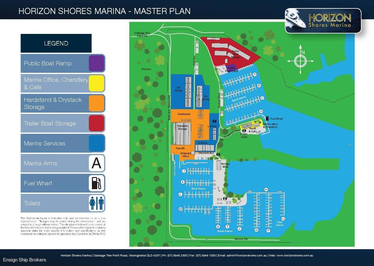 Berth Q66 Horizon Shores Marina