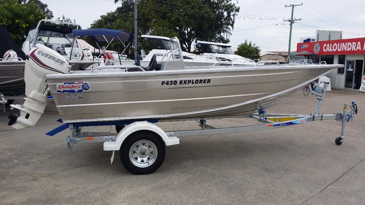 New Quintrex 420 Explorer Side Console Power Boats
