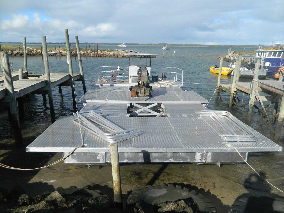 12m x 6m Cat Barge