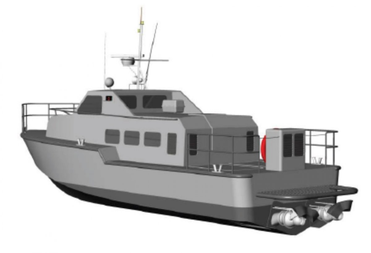 12m Ambulance Boat