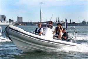 Ballistic 5.5 Metre. A great trailer boat and whole lot of fun