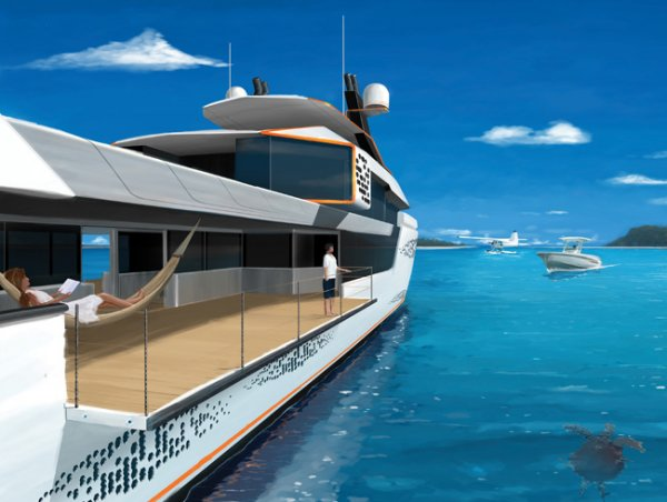 Long-range Luxury 44m Motoryacht