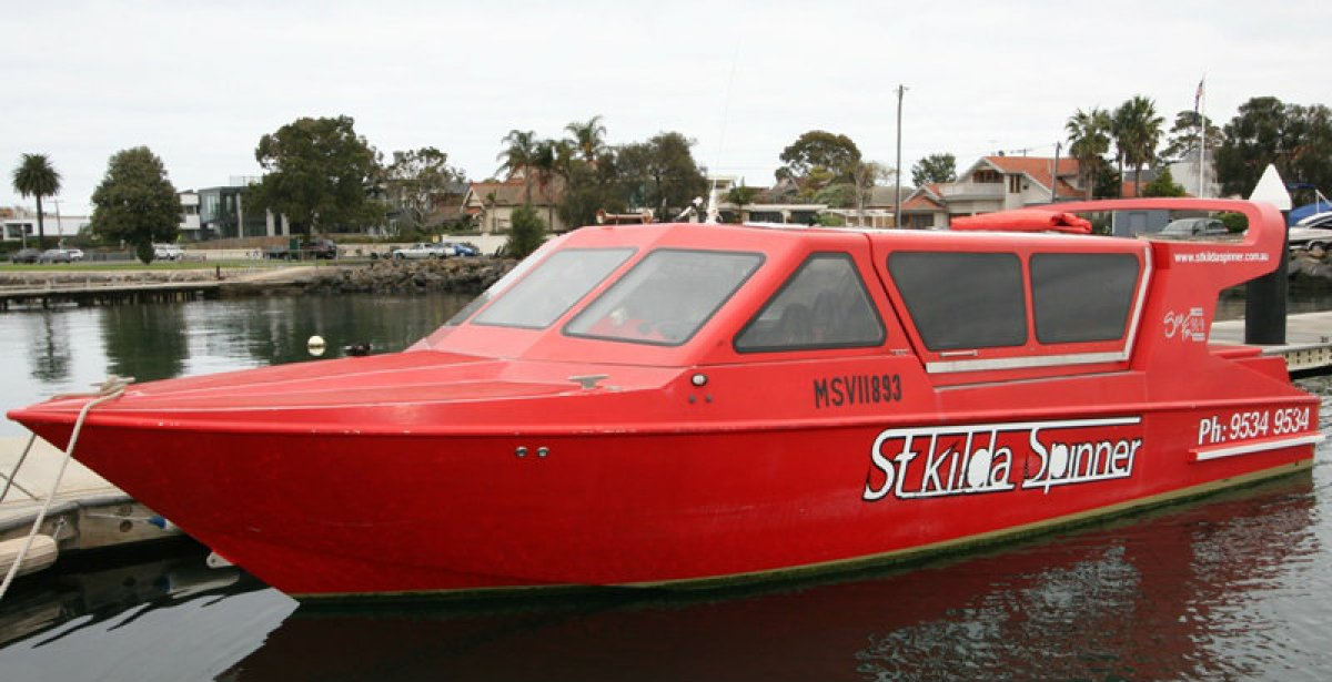 Calibre commercial Jet boat