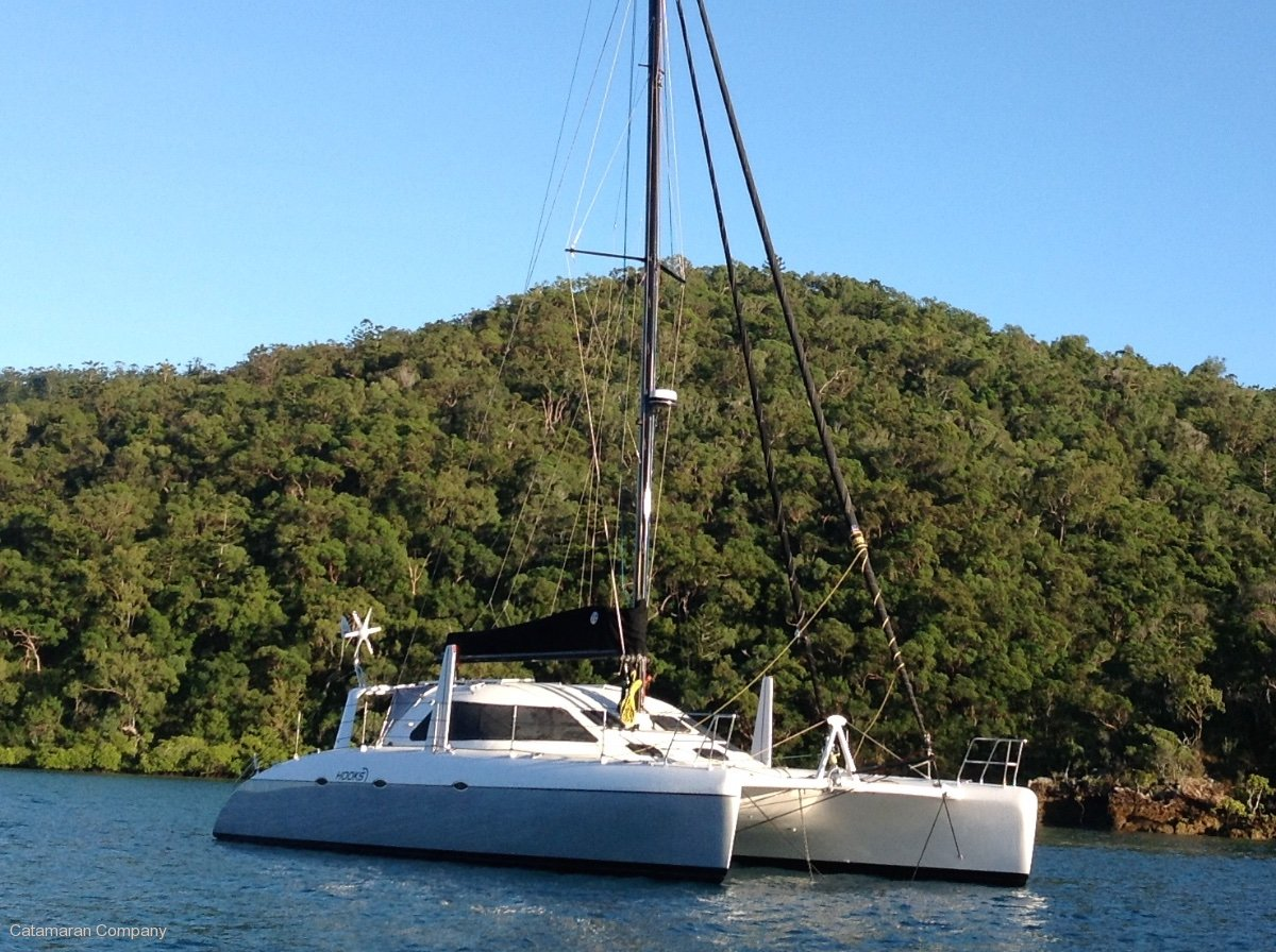 Schionning Cosmos 43 Performance Cruising Catamaran