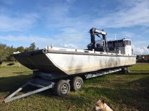 12m x 3.45m Motorised Work Barge