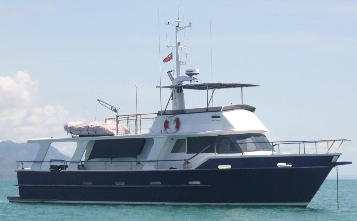 Salthouse 56 Long Range Cruiser