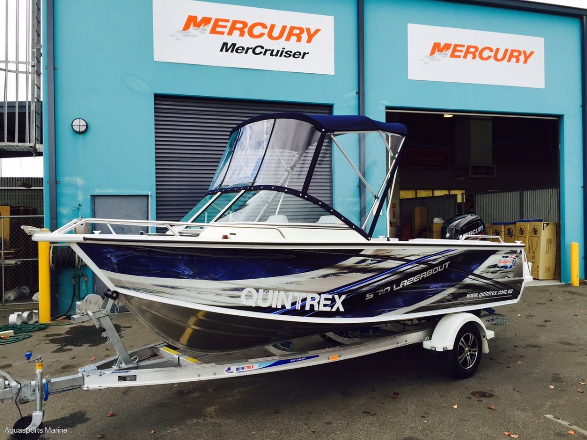 Quintrex 570 Lazeabout Runabout