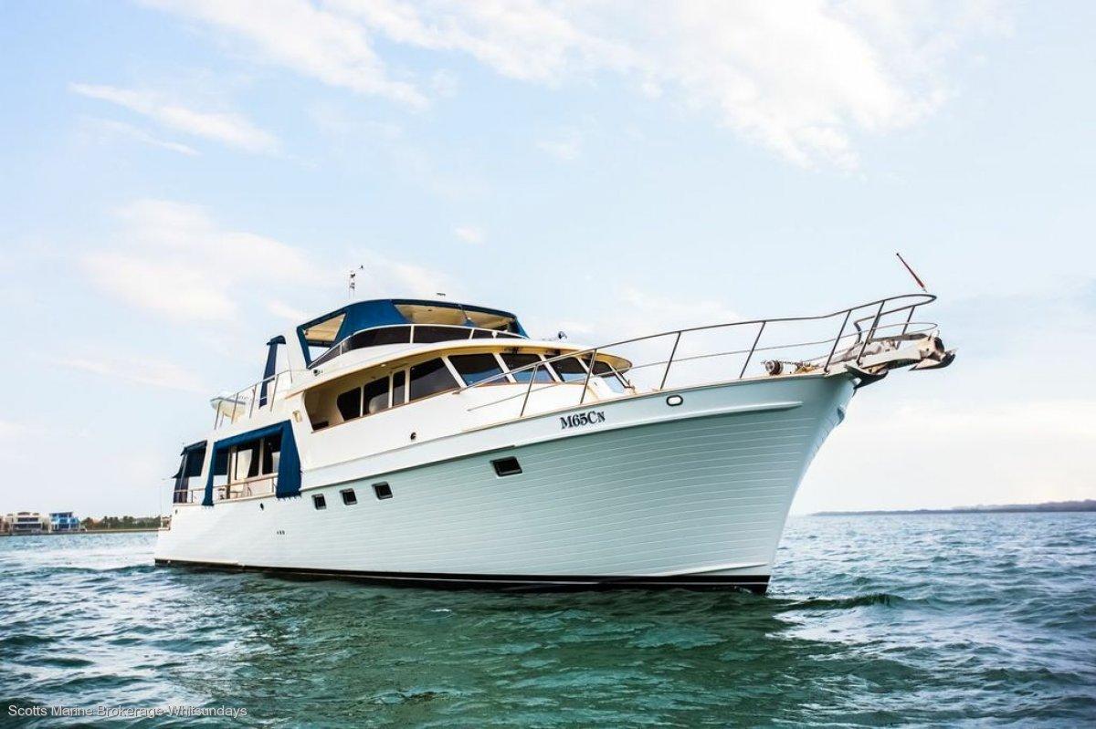 Marlow Yachts 72 custom flybridge