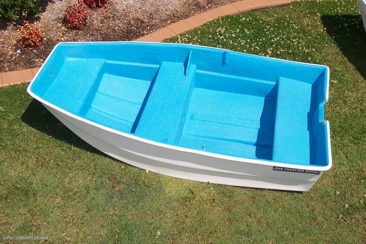 Crawford 7 Snub-nose Dinghy/Tender:Crawford 7 Snub Dinghy at John Crawford Marine