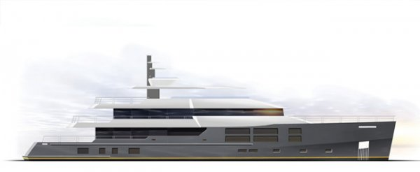 New Expedition Style 50m Superyacht
