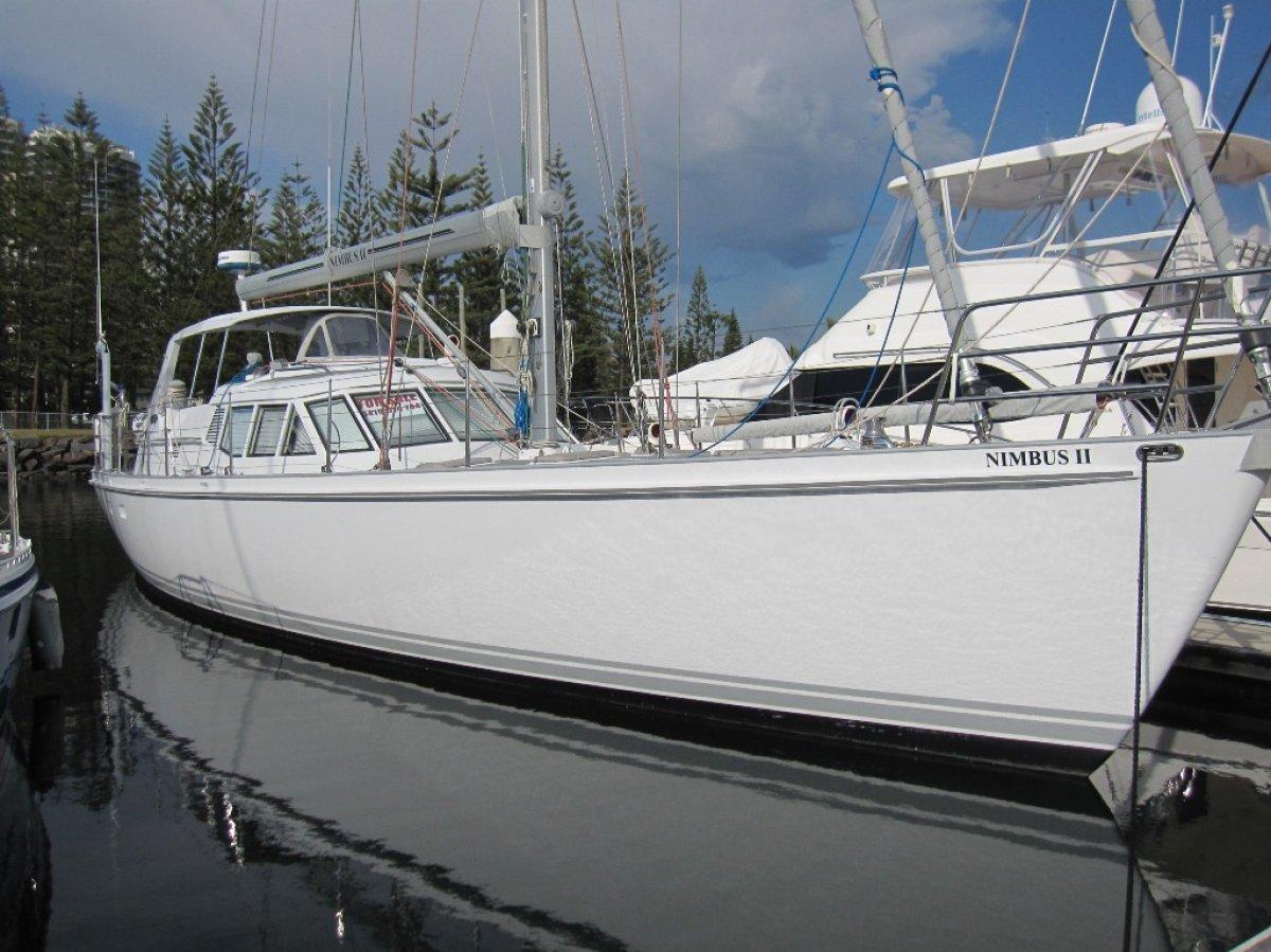 Mummery 55 Deck Saloon Cruising yacht